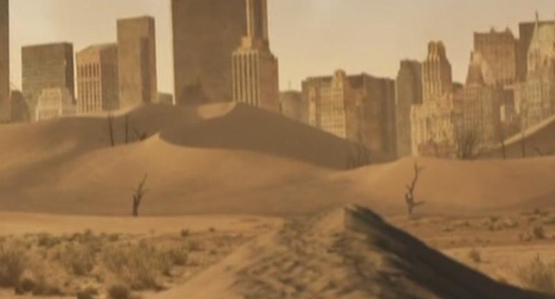 Последствия: Пустынные ландшафты планеты
