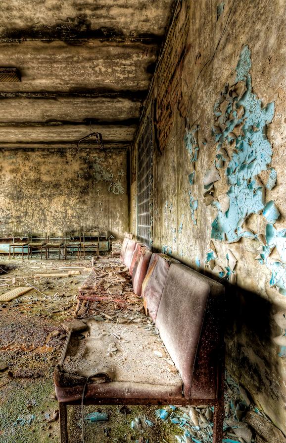 Пустующие кресла в Припяти