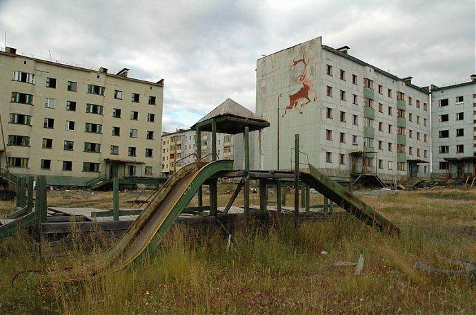 Заброшенные дворы