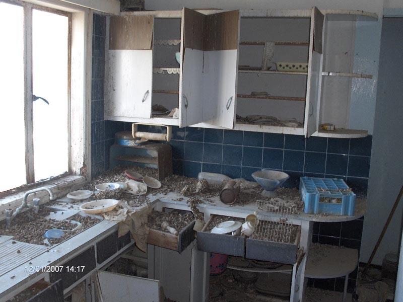 Кухня в одном из домов