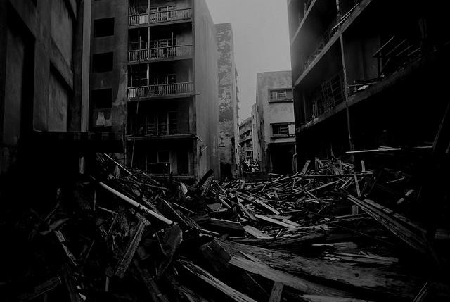 Тотальная разруха в Хашиме
