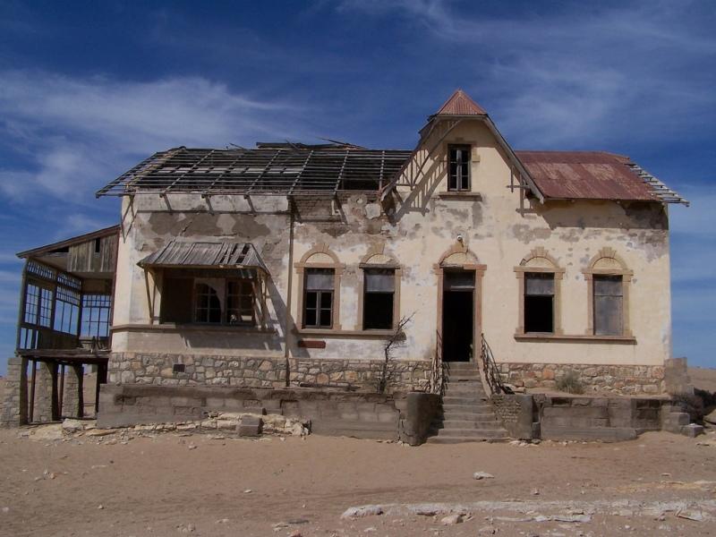 Заброшенный дом Колманскопа