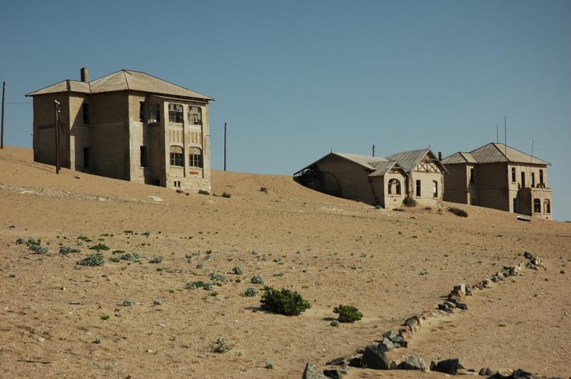 Пески поглощающие город Колманскоп