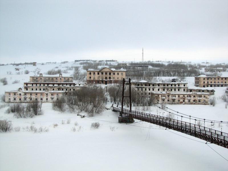 Мост к району Рудник