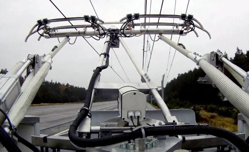 Грузовик-троллейбус