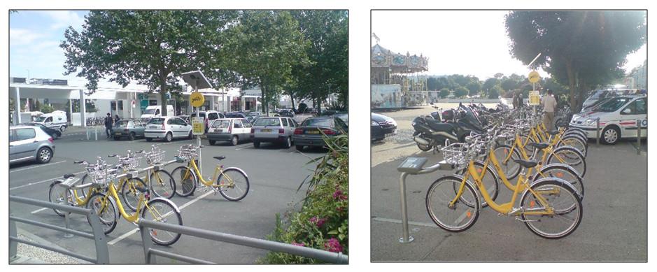 Система аренды велосипедов (велошэринга) в Ла-Рошель (Франция)