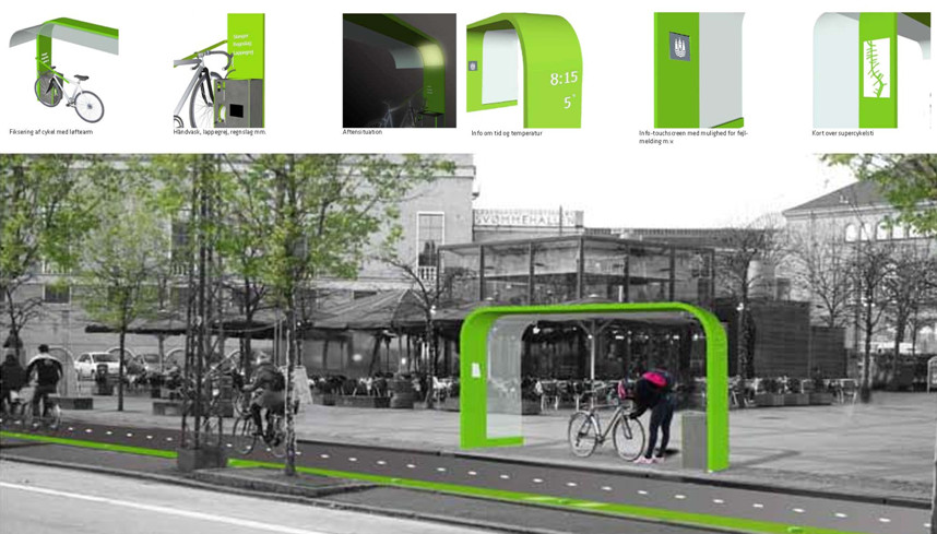 велосипедные сервисные станции