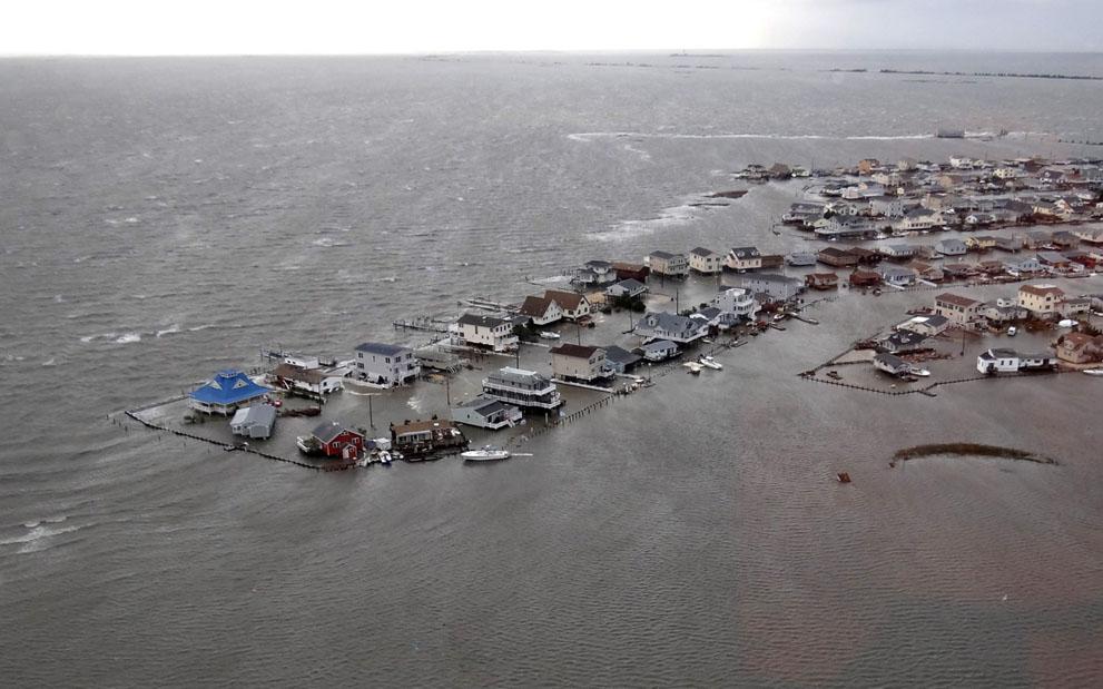 Ураган Сэнди в Нью-Джерси