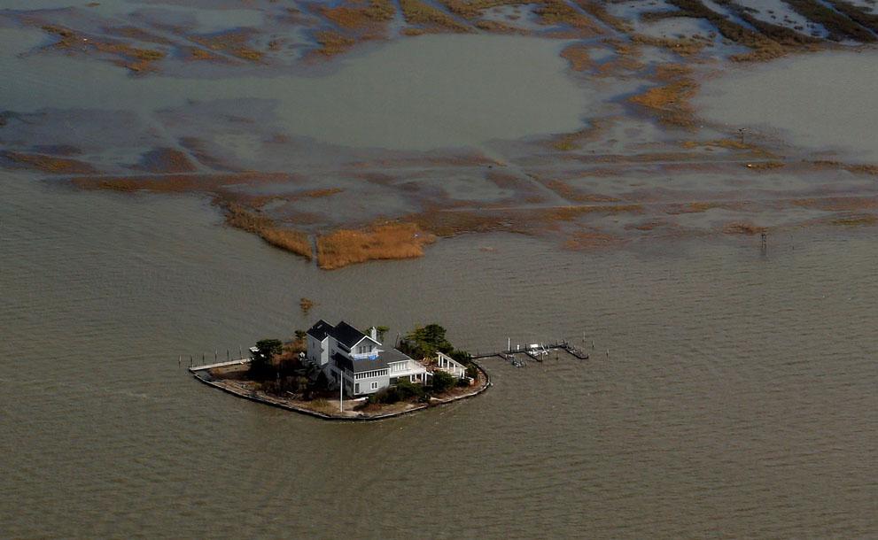 Ураган Сэнди в Нью-Йорке и Нью-Джерси