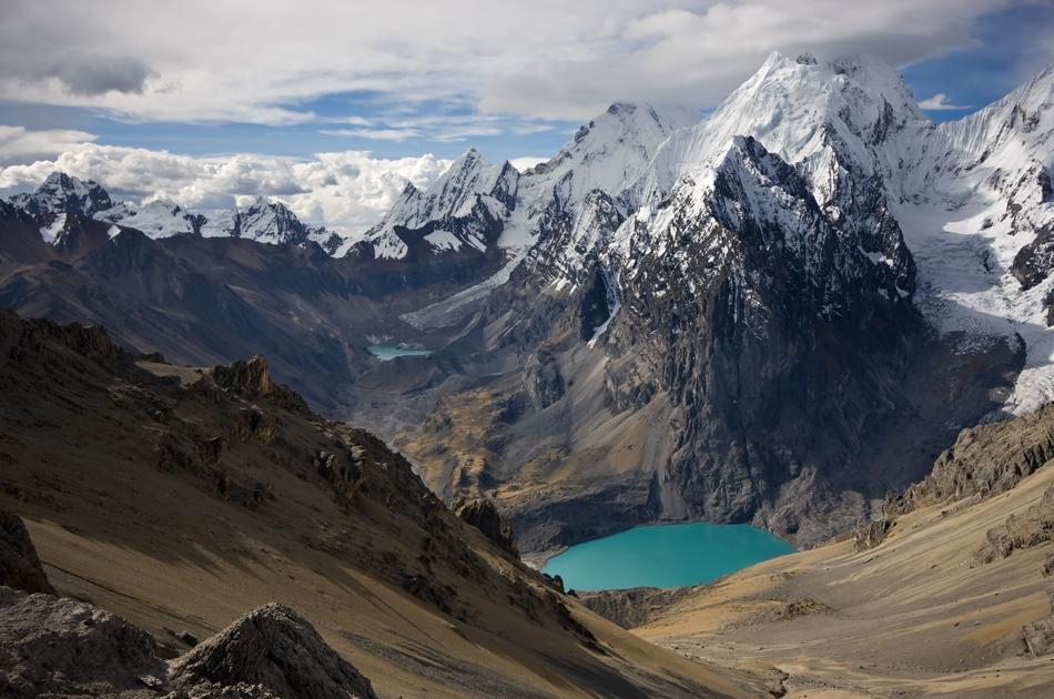 Долина Куэбрада Калинка горной цепи Кордильеры