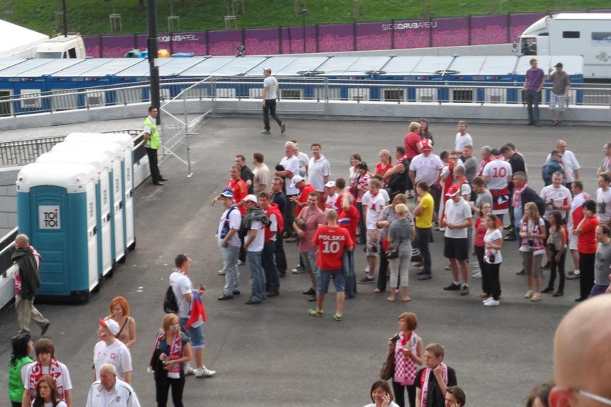 Туалеты в Польше во время проведения Чемпионата мира по футболу