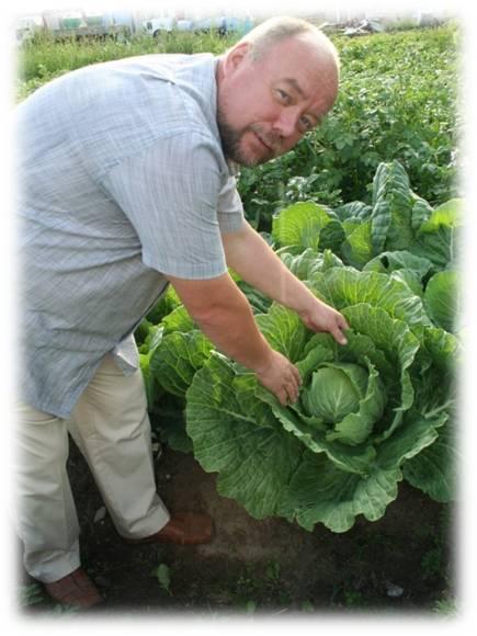 Урожай выращенный на компосте из отходов человека