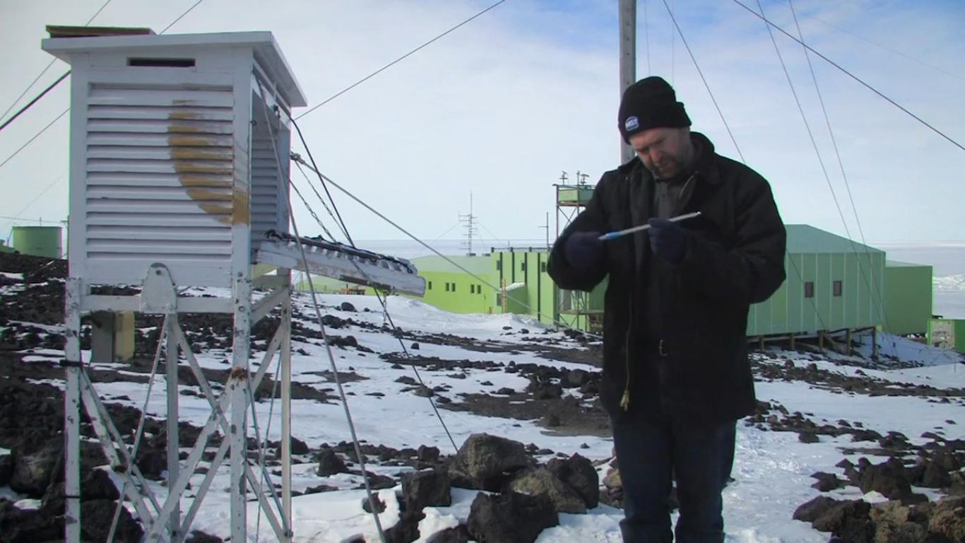 Тонкий лёд (Thin Ice): Антарктическая база Скотта
