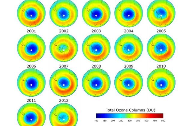 исчезновение озоновой дыры