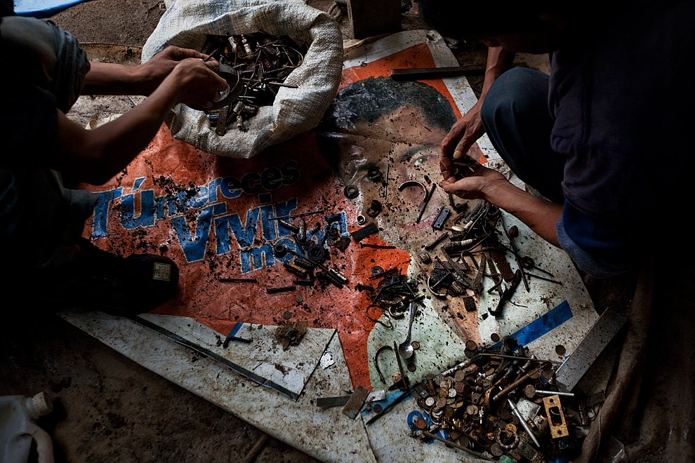 Свалка в Гватемале