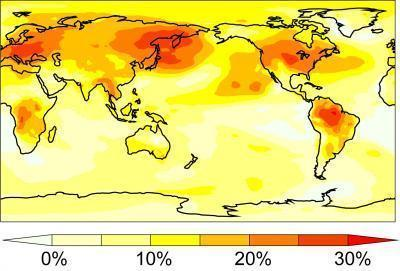 Транспирация растений и климат Земли