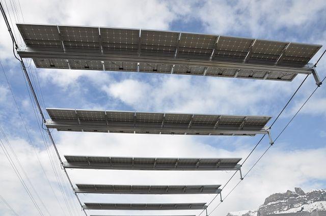 Горнолыжные подъёмники на солнечных батареях