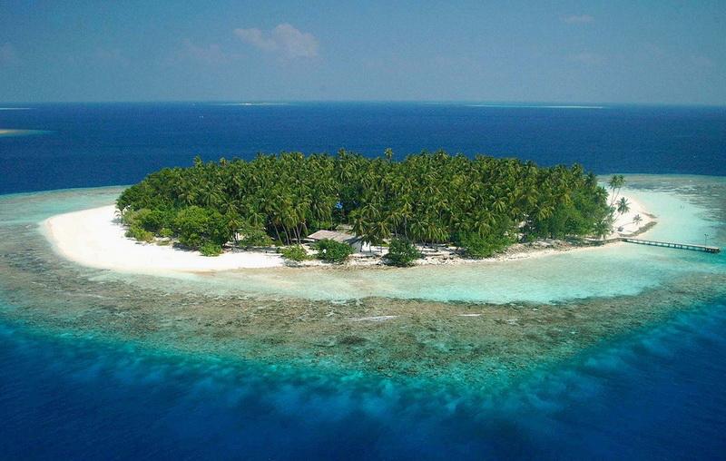 Мальдивские острова уходящие под воду
