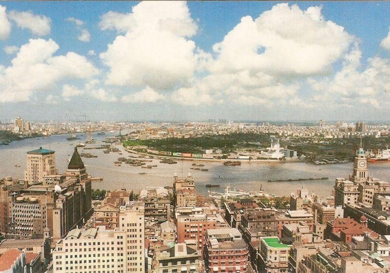 Шанхай с 1990 по 2010 год