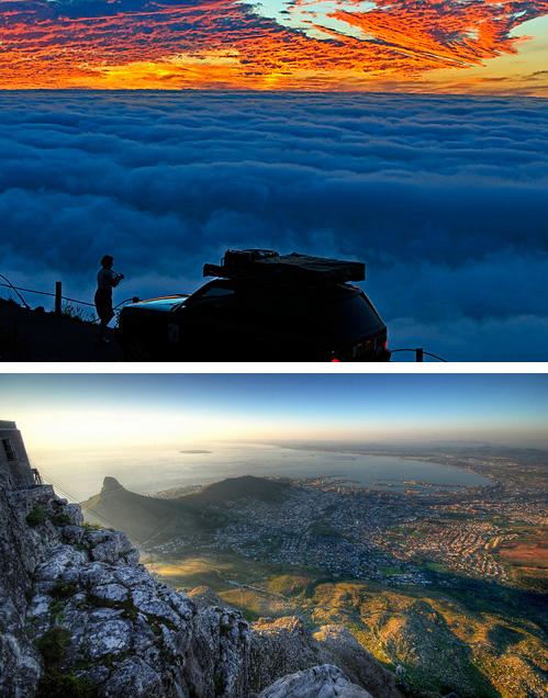 Вид с Сигнал Хилл на Кейптаун