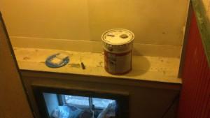 paint awaiting