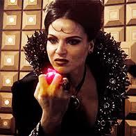 Regina crushing a heart