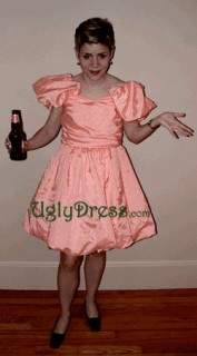 being an ugly girl dress