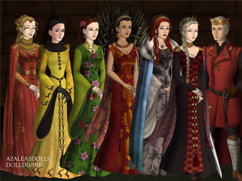 King Aegon and his wives