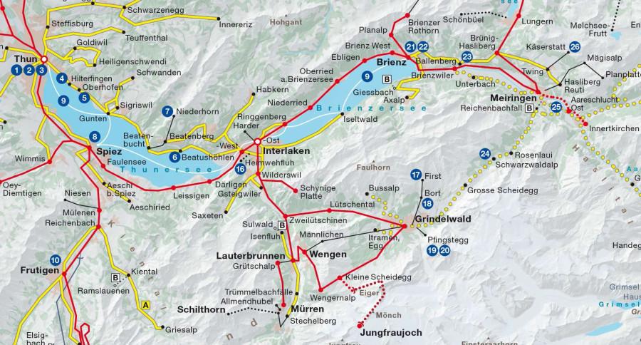 Швейцарская система железных