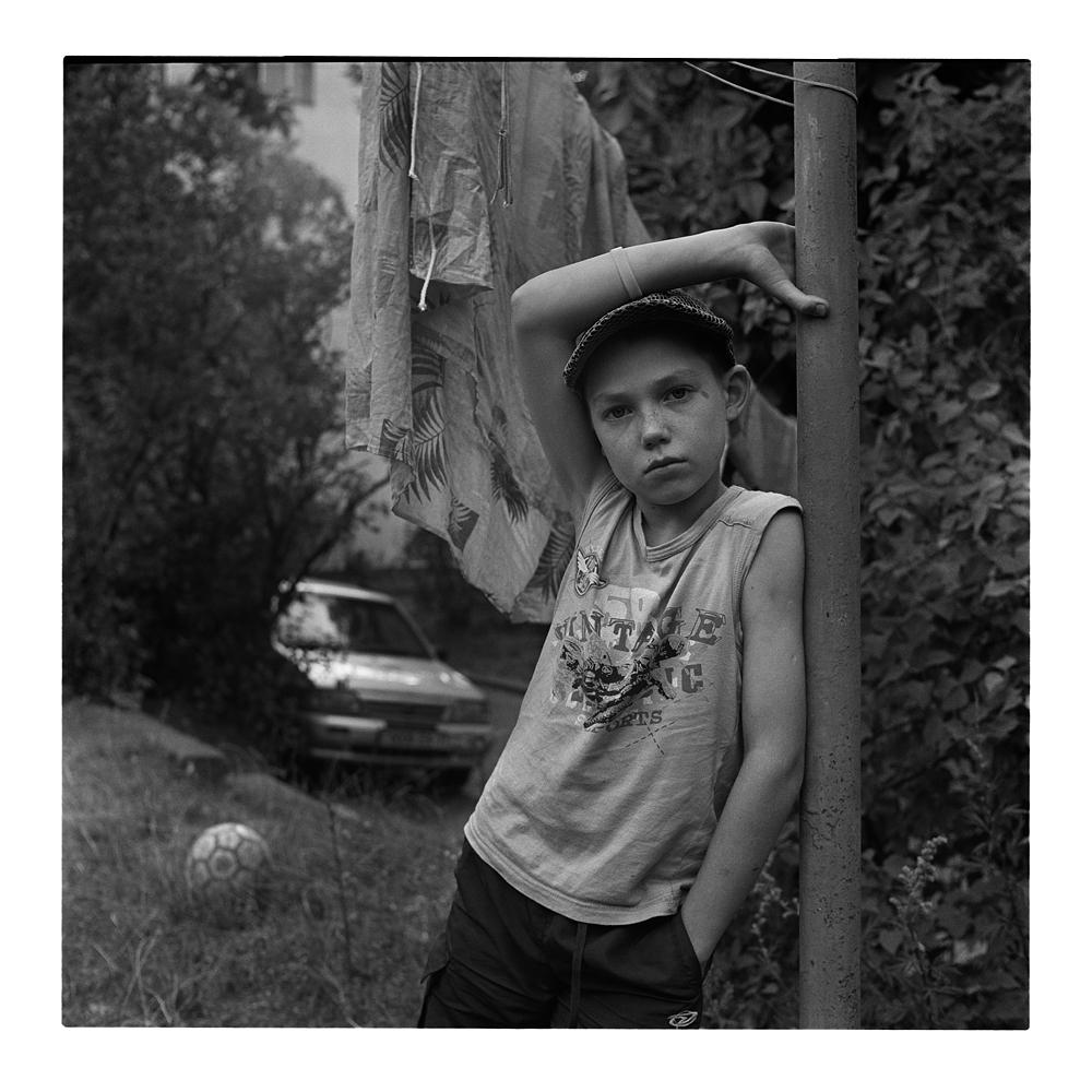 Портрет с мячом. Фотограф Александр Кладов