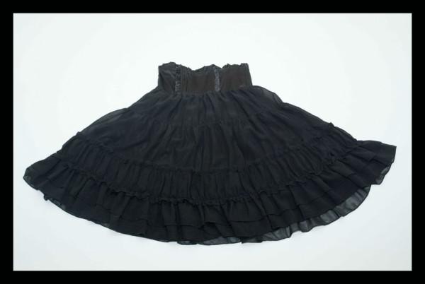 DC Black Chiffon Skirt1
