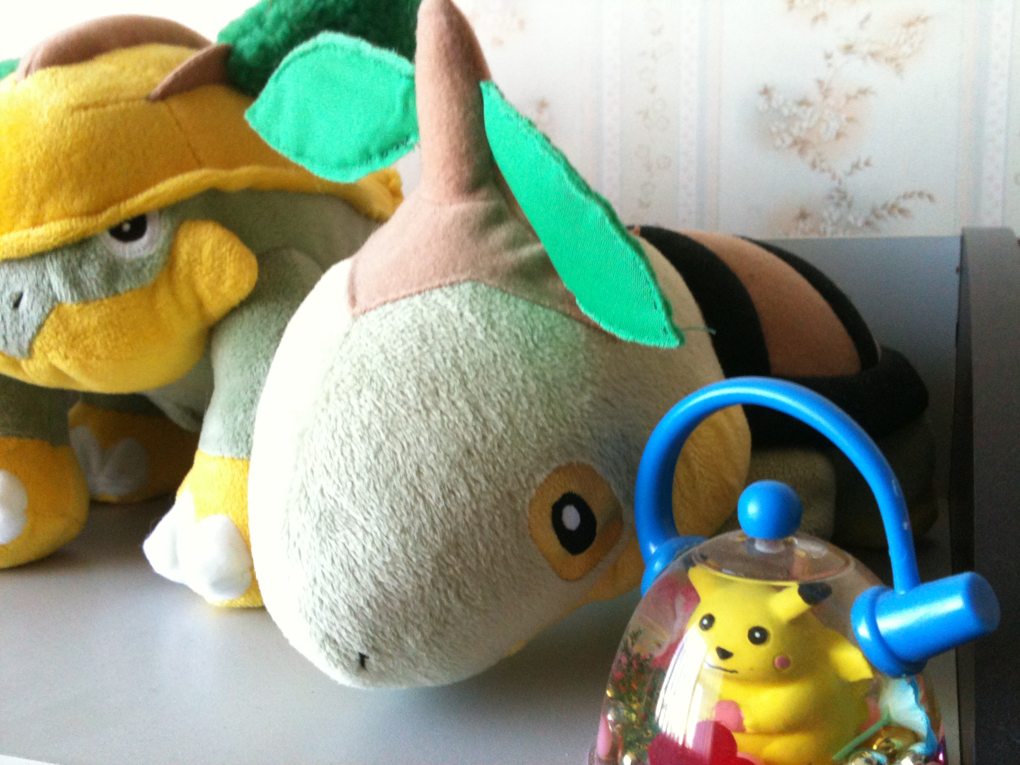 Talking Turtwig plush