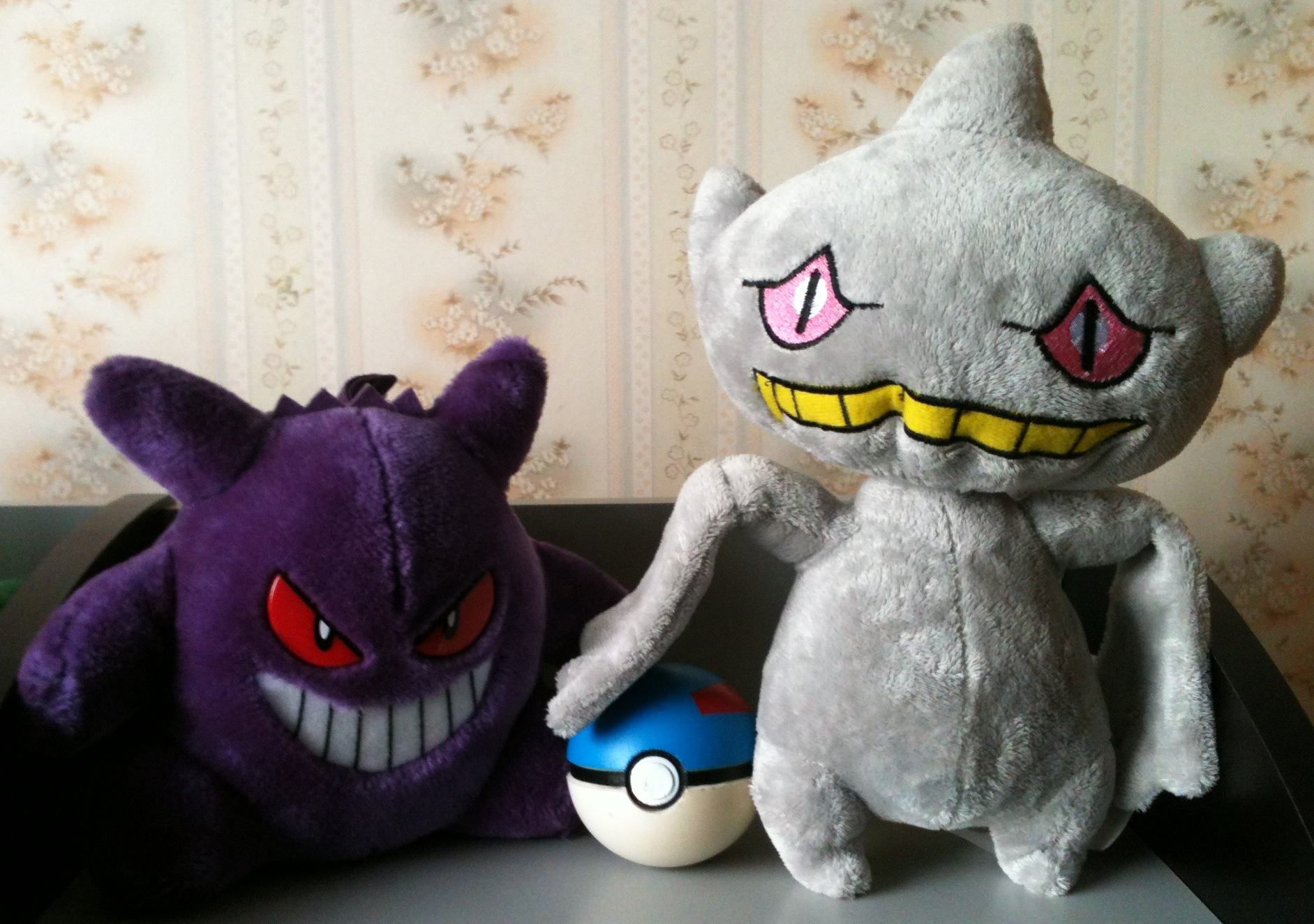 Gengar Great Ball Banette plush