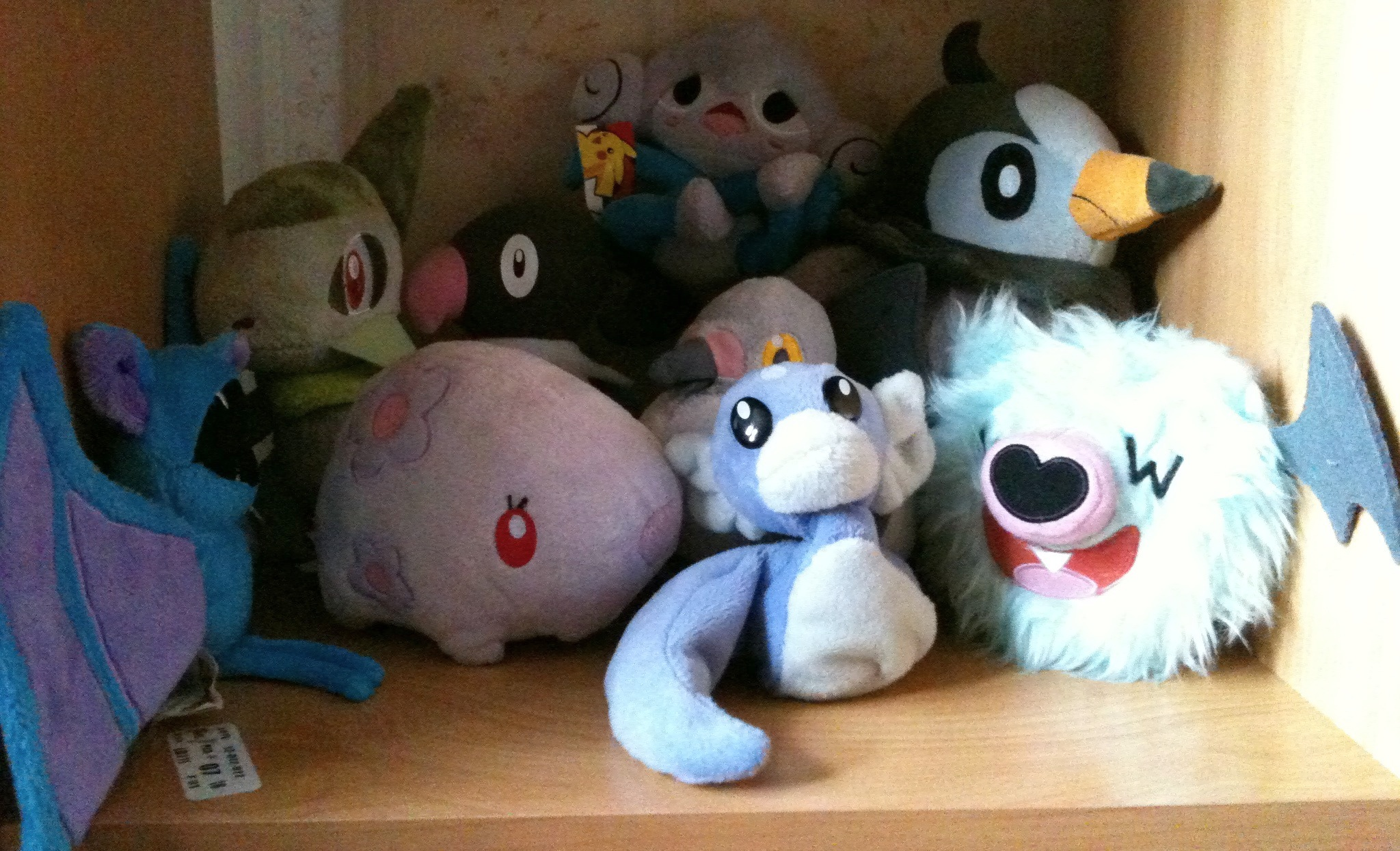 Fly, Dragon and Psychic Pokemon!