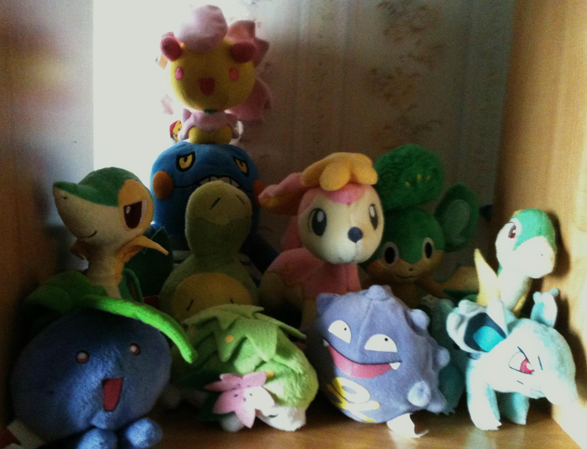 Grass and Poison pokemon!