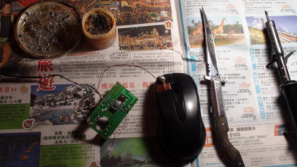 А еще я умею паять. (Как починить мышку в домашних условиях.)