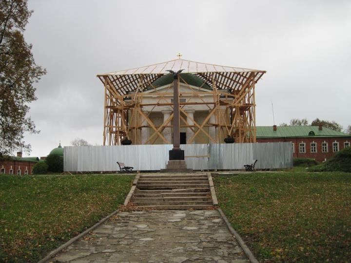 Мавзолей Тучковых готовят к юбилею