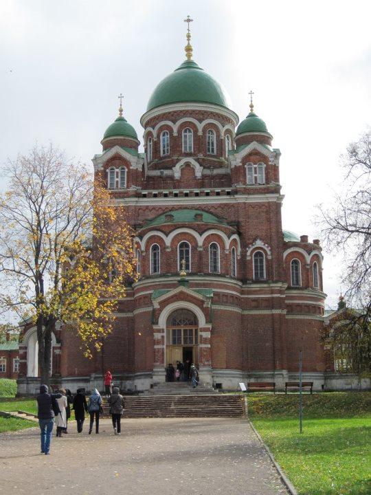 Владимирский собор Спасо-Бородинского монастыря