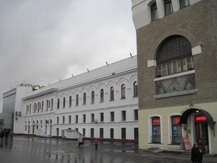 Стена Троицкого вокзала