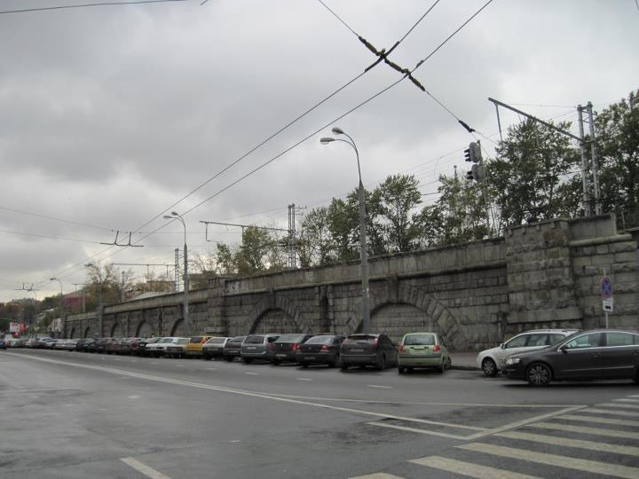 Каланчевская эстакада Алексеевской соединительной ветки