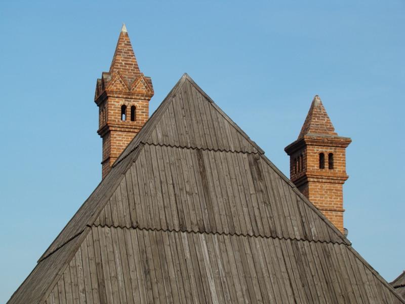 Крыша Старого Анлгийского двора