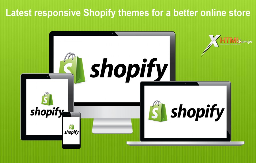 Latest responsive Shopify themes for a better online store