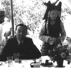 Доктор Хью Ричардсон в Тибете