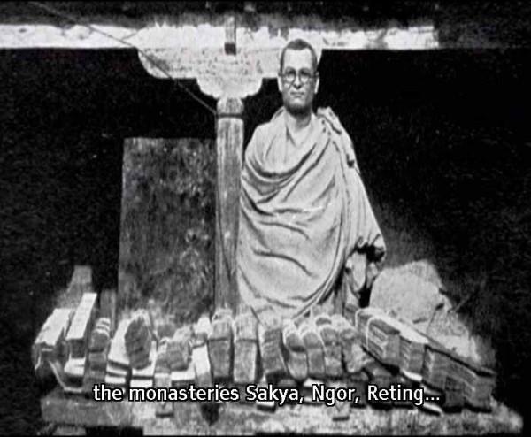 Рахул Санкритьяян во время путешествия по Тибету