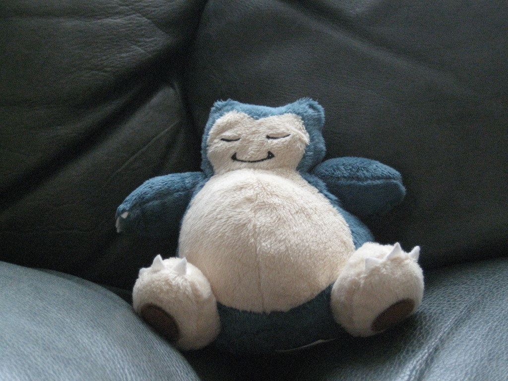 Snorlax Jacks Plush