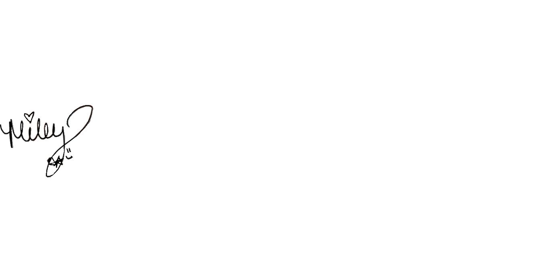 MileyCyrus_signature firma ShurKonrad