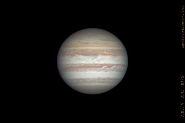 Юпитер в ночь на 2-е мая 2017