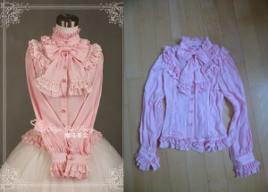 mtb blouse pink