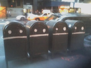 The sad, sad mailboxes