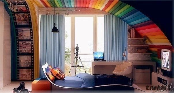 радужная комната